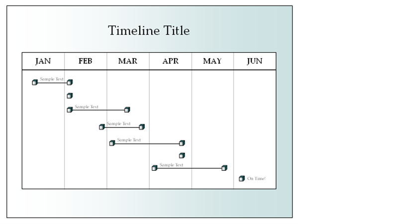 Six month timeline office templates six month timeline toneelgroepblik Gallery
