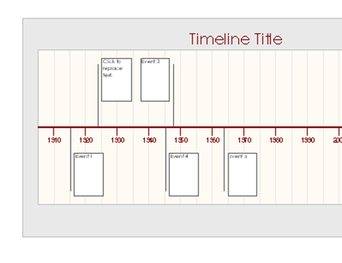Timelines Officecom - Powerpoint timeline templates