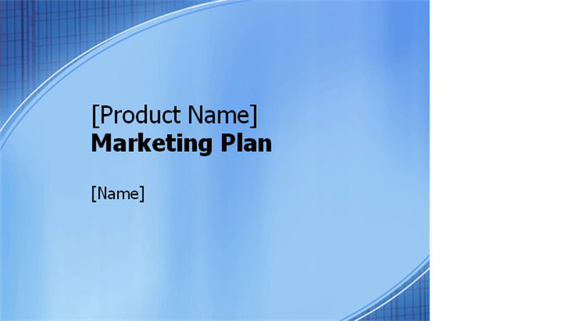 Marketing plan presentation - Office Templates
