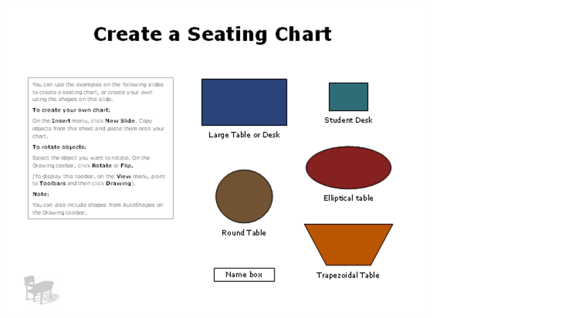 Seating charts Office Templates – Seating Chart Template Word