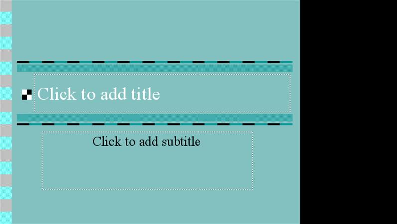 Checkers design template