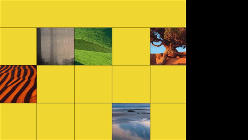 Natural wonders design slides