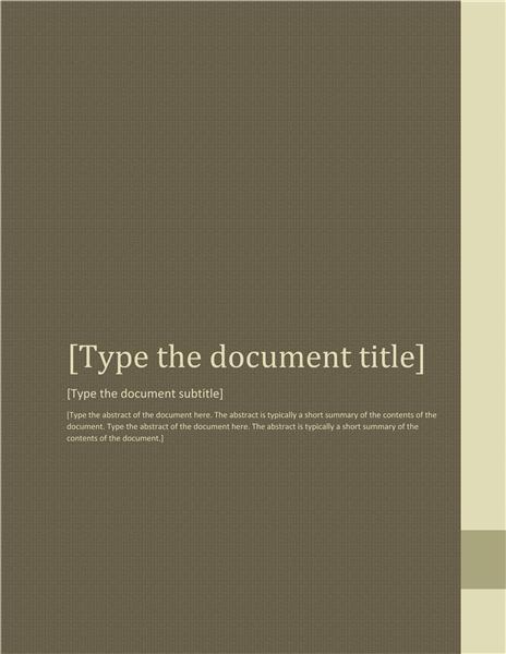 Report (Adjacency design)