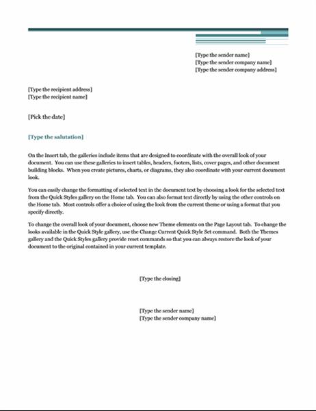 Letter (Urban theme)