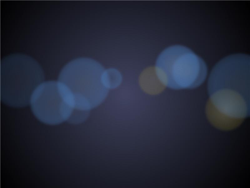 Transparent light effect