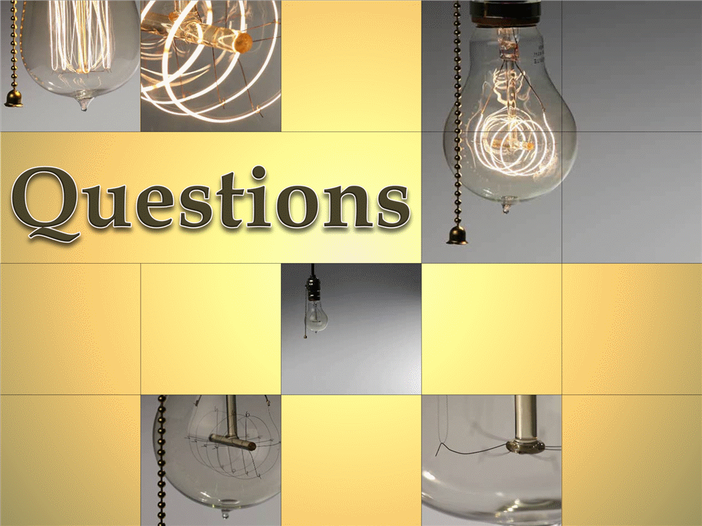 Light bulb questions (with video)