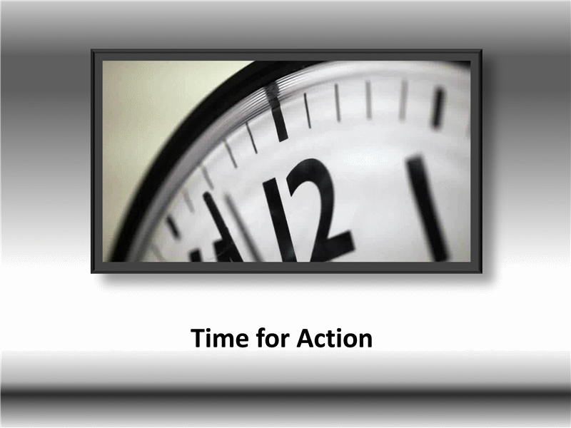 Time for action (with video)