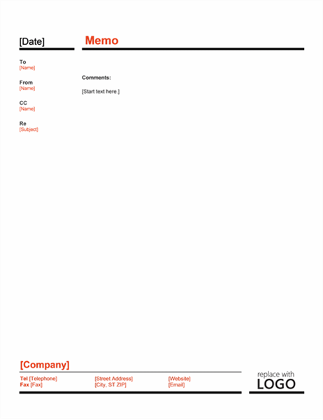 Memos Office – Free Memo Template
