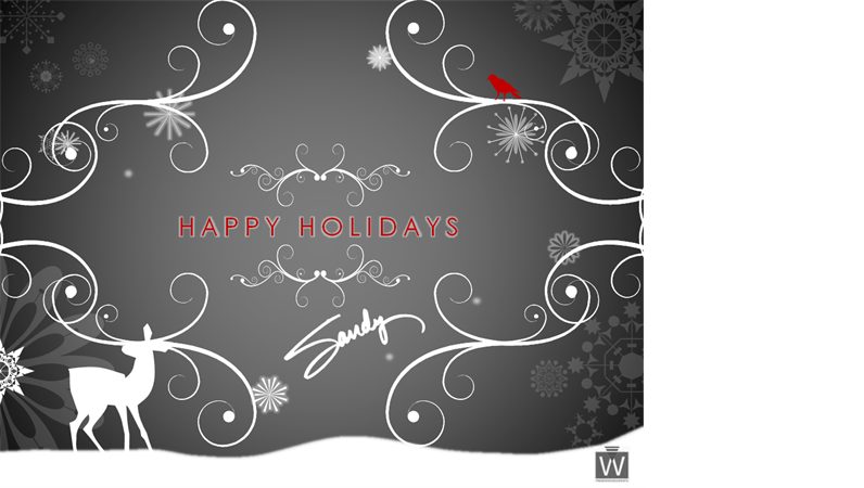 Happy Holidays E-card