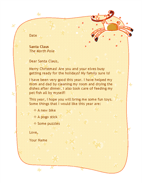 letter to santa office templates