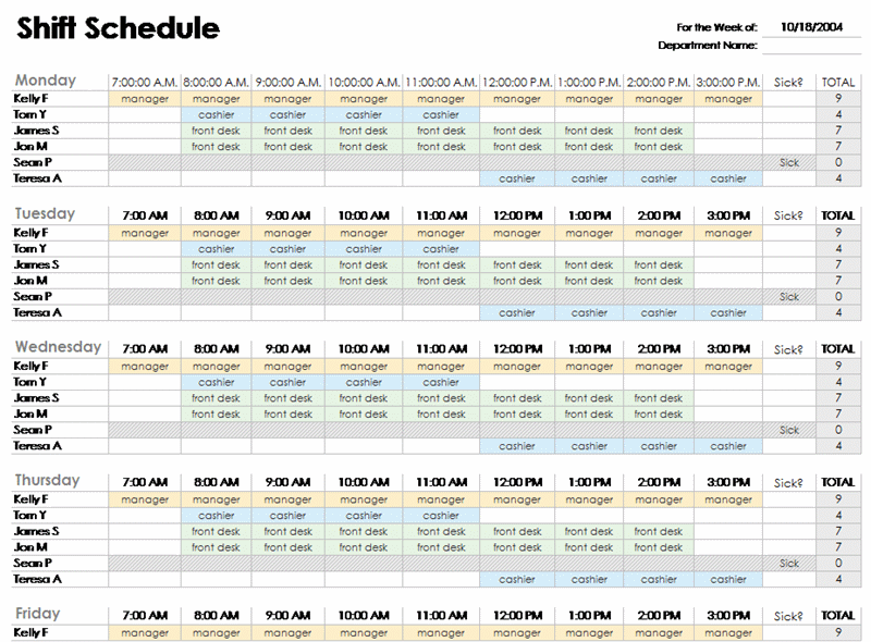 Schedules - Office.com