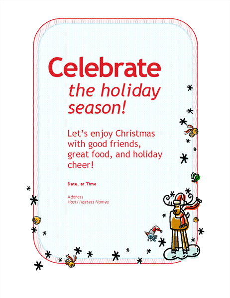 Holiday party invitation Office Templates – Holiday Office Party Invitation Templates
