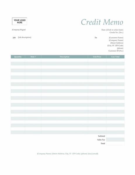 Memos Office – Microsoft Word Memorandum Template