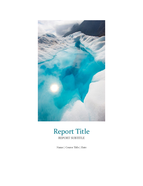Templates for Word – Microsoft Word Template Report