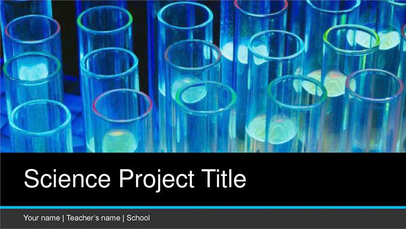 Science project presentation widescreen toneelgroepblik Image collections