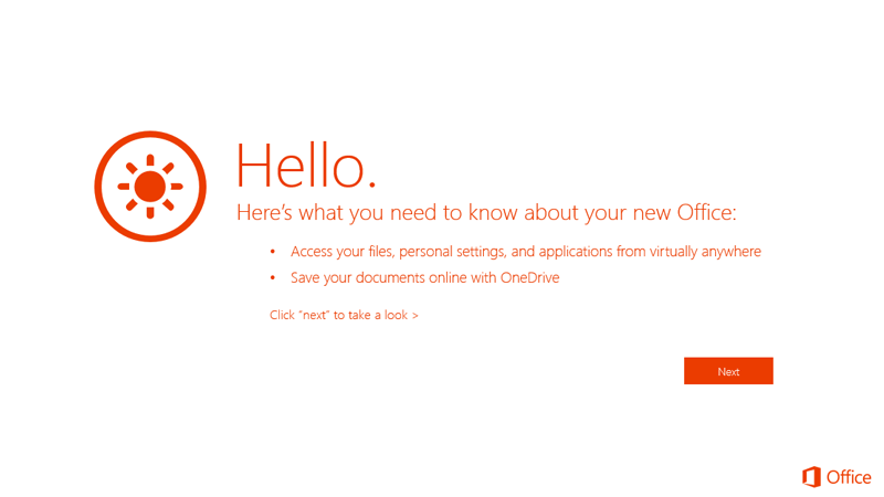 Office 365 Home Premium Getting Started