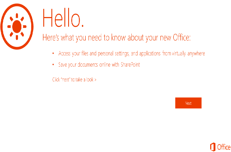 Office 365 Pro Plus Getting Started