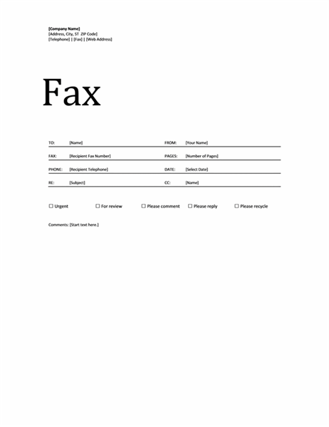 Fax Cover Sheet Office Templates – Fax Cover Sheets Template