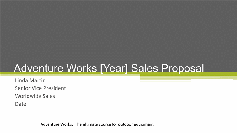 business sales strategy proposal presentation - office templates, Modern powerpoint