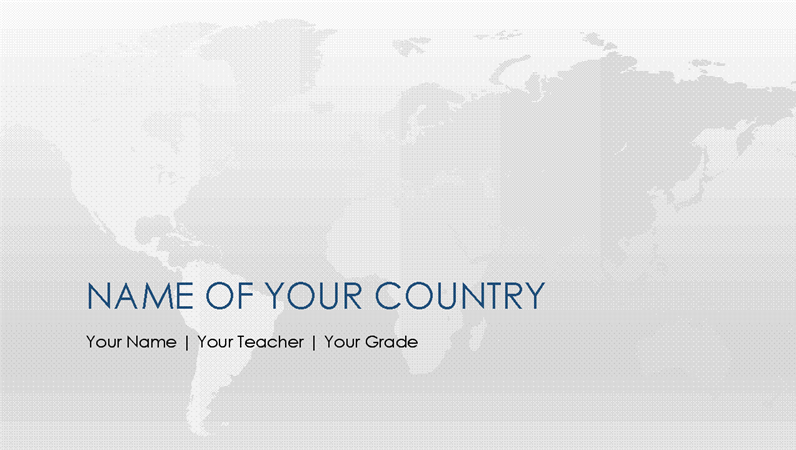World country report presentation office templates world country report presentation toneelgroepblik Choice Image