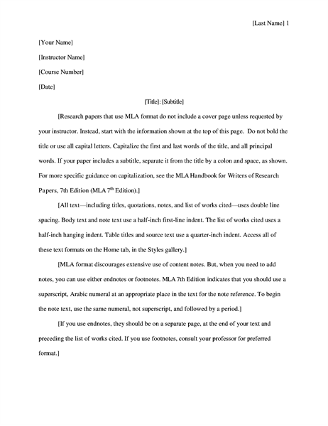 Student report with cover Office Templates – Student Report Template Word