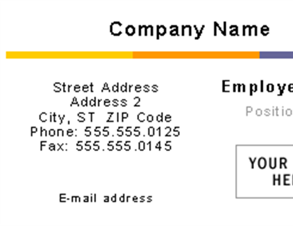 Business cards office business cards level design flashek