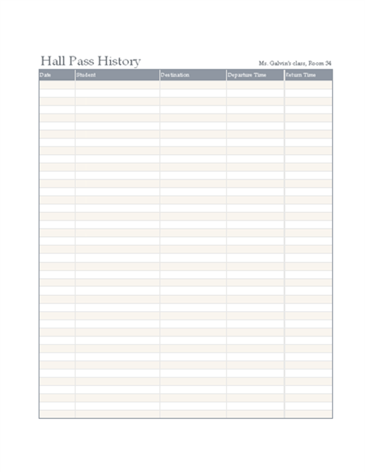 shift passdown log template