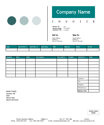 Nch Invoice Software Sales Invoice Dots Design  Office Templates What Is A Invoice Address Word with Online Invoice Maker Free Sales Invoice Dots Design Free Invoice Software Download For Small Business Pdf