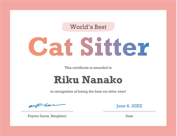 Worlds best award certificate office templates worlds best award certificate yadclub Choice Image