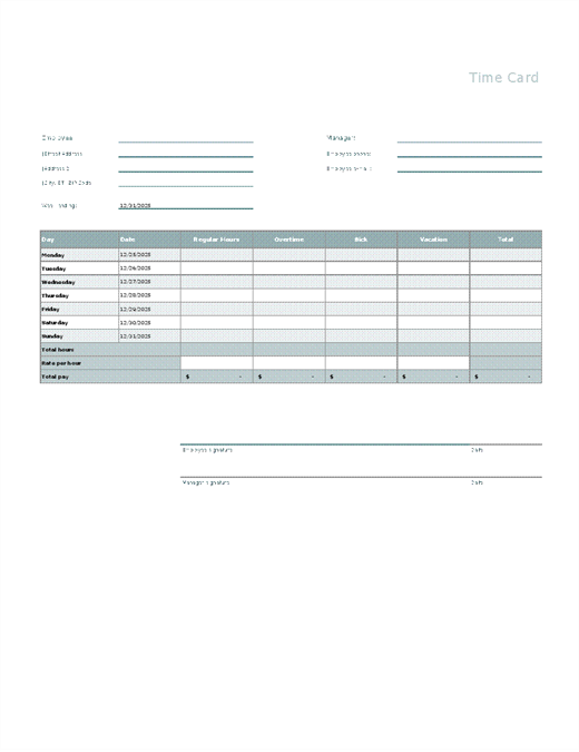 Employee attendance tracker Office Templates – Employee Attendance Record Template