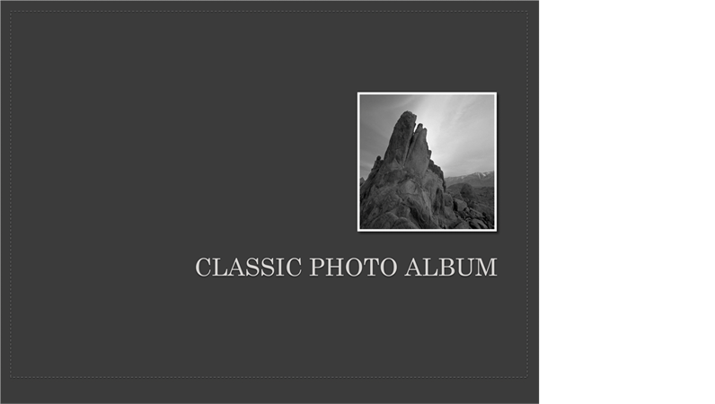 Classic photo album office templates classic photo album pronofoot35fo Gallery