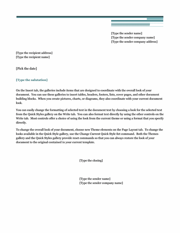 Letter (Urban Theme)  Letter Of Intent Template Uk