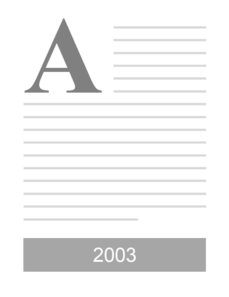 Word 2003 look template