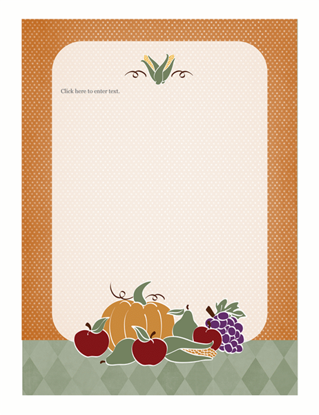 Stationery (harvest design)
