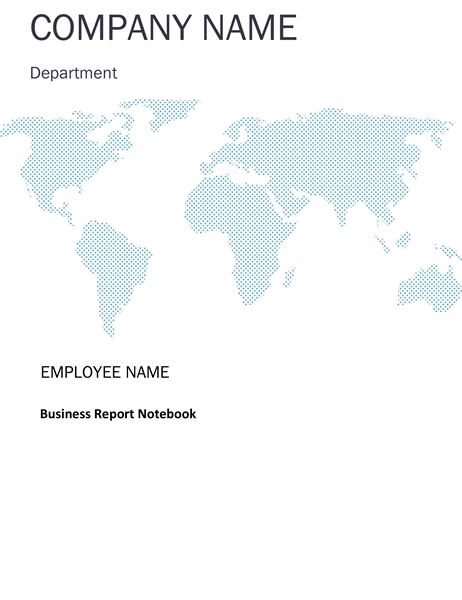 Papers and Reports Office – Business Report Template Word