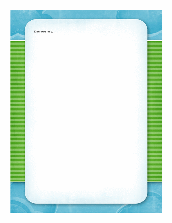 Stationery (clouds design)