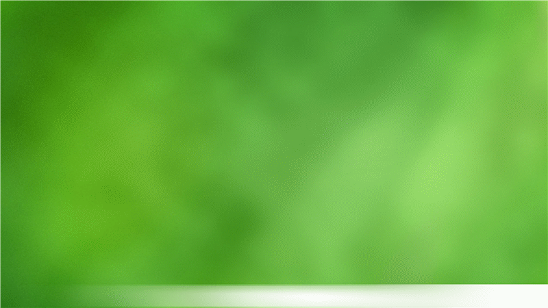 Feathered lime green design template (widescreen)