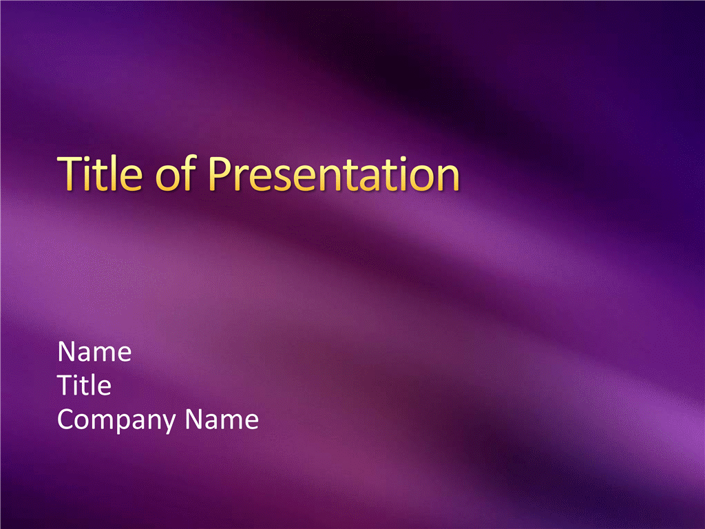 Sample presentation slides (Berry light and shadow design)