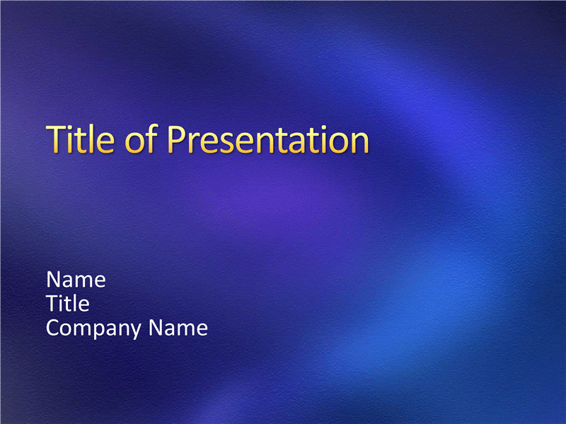 Sample presentation slides (Stipple blue design)