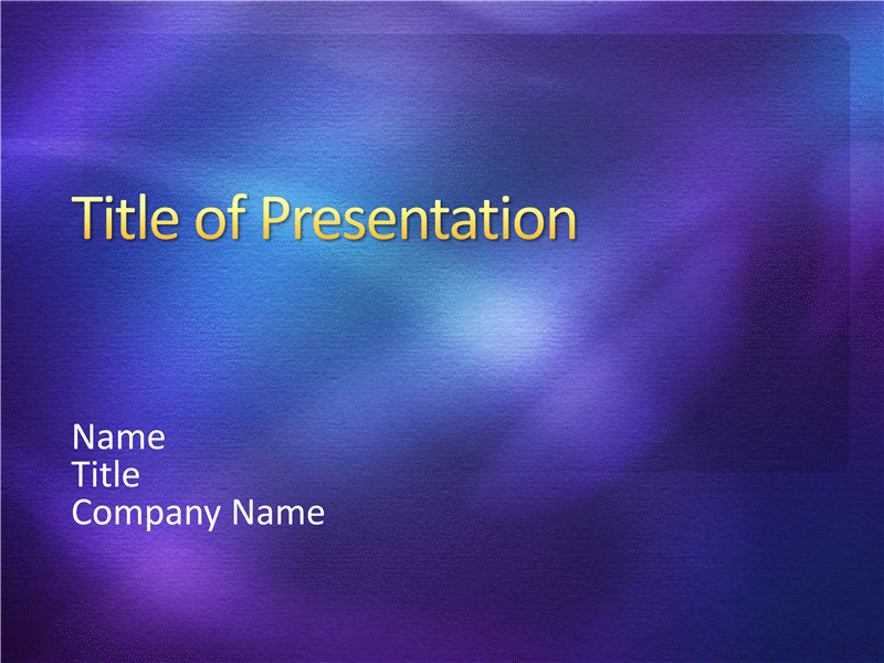 Sample presentation slides (Purple textured design)