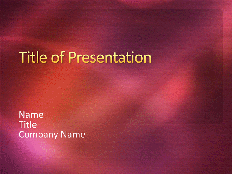 Sample presentation slides (Wine textured design)