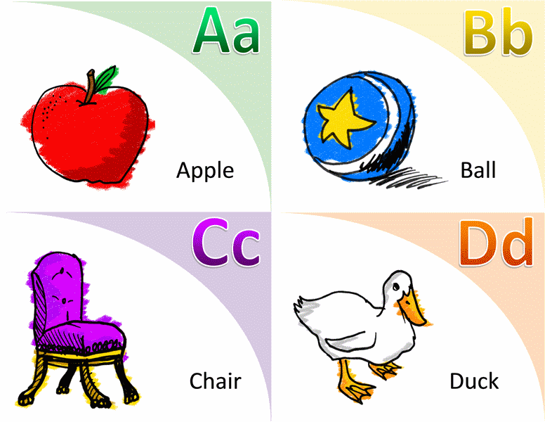Marvelous Alphabet And Vocabulary Flash Cards