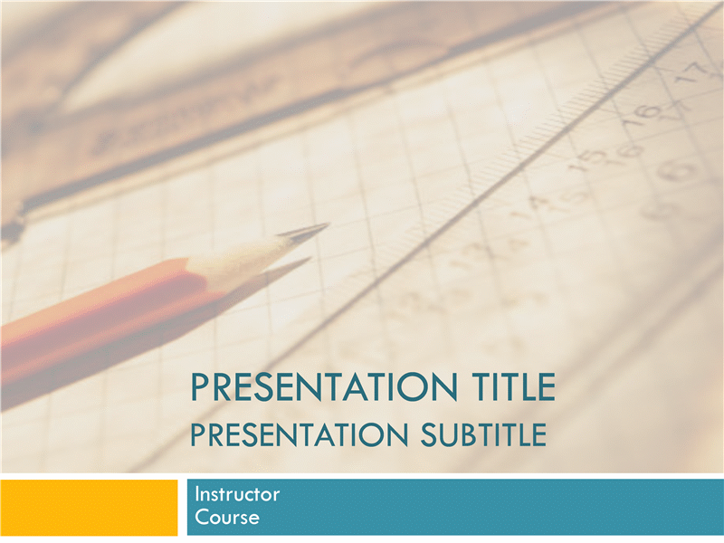 Academic presentation for college course paper and pencil design academic presentation for college course paper and pencil design templates education academic presentation for college toneelgroepblik Images