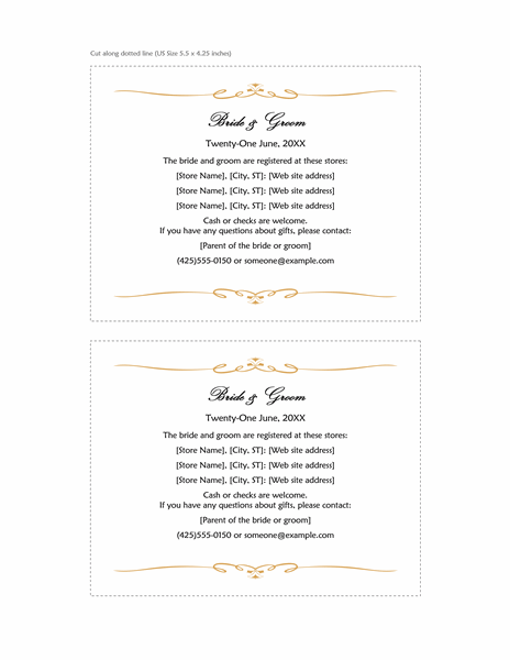 Cards Officecom - Wedding invitation templates: wedding place card size