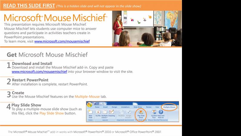 Mouse Mischief Possessives
