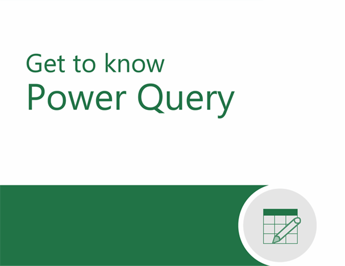 Power Query tutorial