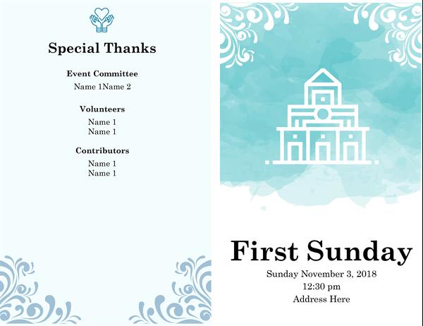 Religious service program