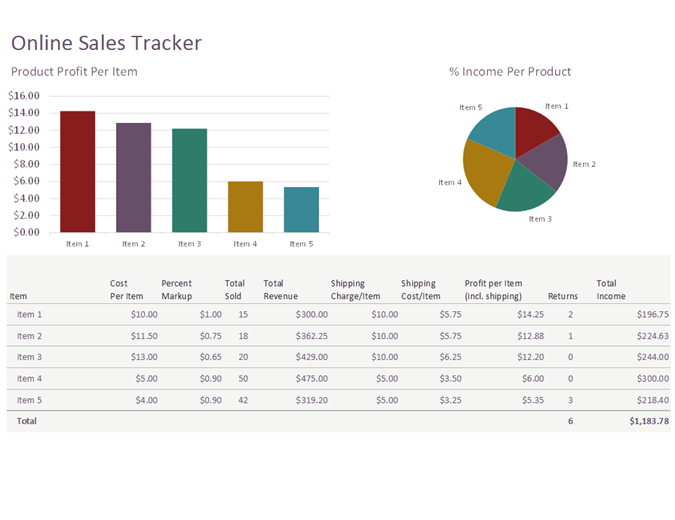 excel sales tracker