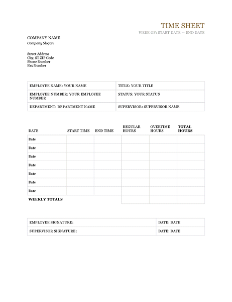 Time Sheet Office Templates - Free invoice word template order online pickup in store