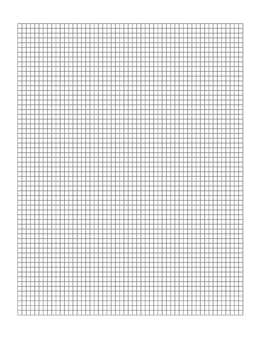 1 cm graph paper template word - graph paper